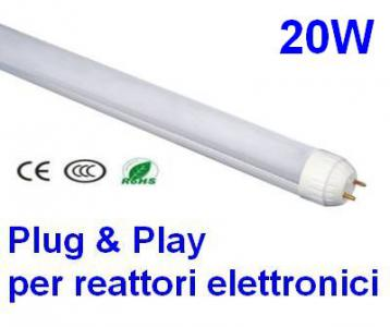 Tubi a led omnialed per reattori elettronici, Plug and Play