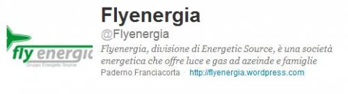 Segui i tweet Flyenergia