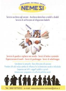Associazione Culturale - Sociale NEMESI