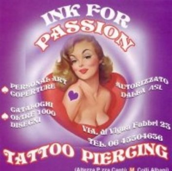 Tattoo and Piercing Inkforpassion Roma