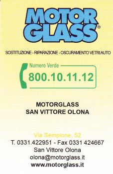 Motor Glass - San Vittore Olona