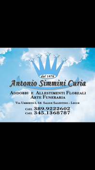 """Arte funeraria """"Antonio Simmini Curia"""""""