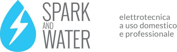 spark and water