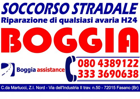 BOGGIA COSIMO - SOCCORSO STRADALE