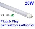 Tubi a LED stagni per reattori elettronici